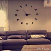 ساعة حائط 3دي