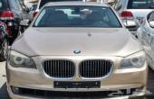 BMW 750 موديل 2009 مخزن وكاله ماشيه قليل