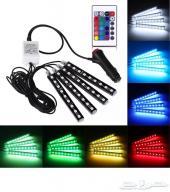 إنارة LED الداخلية السيارات (تحت الدعاسات)