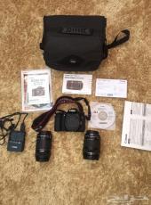 كاميرا كانون D70 شبه جديده مخزنه canon d70