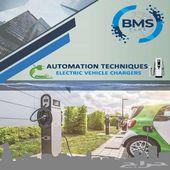 شركة BMS لتحكم الالي وتنفيذ محطات شحن السيار