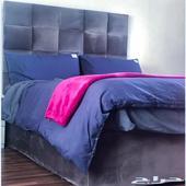 سرير بوكس كوين تفصيل فندقي