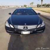 مرسيدس E250 كوبيه 2012 ماشي 151000 كم