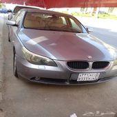 BMW 520  موديل 2005 ممشى 44 الف   للبيع جدة
