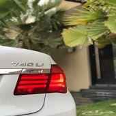 ناغي BMW 740Li .. سعودي ( وكالة )