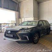 لكزس LX 2020 فل كامل سعودي اسود بيج