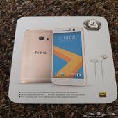 للبيع HTC 10 ذهبي 32 جيجا بكرتونه كالجديد