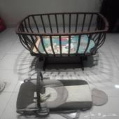 سرير اطفال للبيع وسرير بيبي