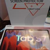 تاب اس7 مع غلاف وشاشة حماية