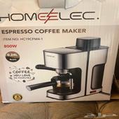 الة قهوه نظيفه مستخدمه اسبوع واقل