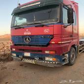 شاحنة اكتروس مرسيدس 2001 فحص واستمارة جديد