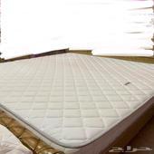 مرتبة سرير شبه جديدة تركي جدا مريحة