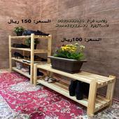 منظمات أحذية و جزامات خشبية جديدة للبيع