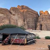 محافظة العلا .. مخيم VIP