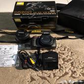 كاميرا نيكون D5200 اخت الجديد للبيع