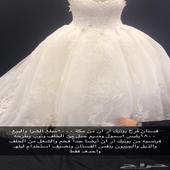 فستان فرح جدا فخم وجميل
