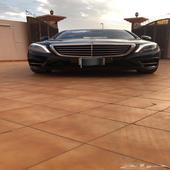 مرسيدس 2014 S 500 جفالي اسود