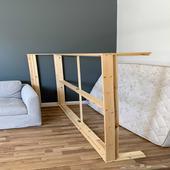 سرير ايكيا مع شرائح 140x200