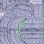 2س شارعين 32 و 16 ضلعها على الشارع 28 متر