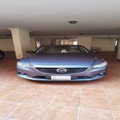 للبيع سيارة مازدا 6 سيدان لون ازرق نظيفة جداَ