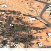 ارض للايجار مساحة 7500 تزود او تنقص بشي بسيط