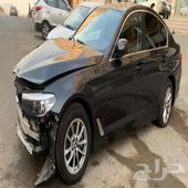 BMW 2020 مصدوم  ((  تم البيع  ))