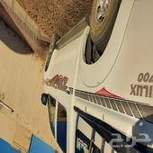 هيلوكس للبيع الوقود بنزين خليجي عداد 378