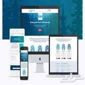 تصميم موقع تعريفي - تصميم متجر إلكتروني