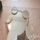 طاولات تقديم نقش ليزر