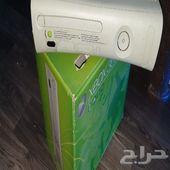 جهاز اكس بوكس 360 مخزن نضيف جدا