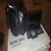 كاميرا كانون احترافي لمس Canon EOS 200d