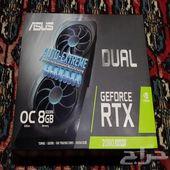 كرت شاشة ASUS RTX 2080 Super ورامات 32GB 3200