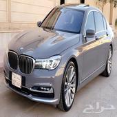 BMW حجم 740 نظيفة جدا 2017