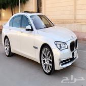 740 BMW Li اندفجوال بيرل 2014 نظيفة جدا