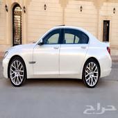 BMW 740 Li اندفجوال بيرل 2014 نظيفة جدا