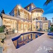 قصر سكني للبيع حي المعذر