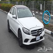 Mercedes-Benz C 200 2.0L I-4 Turbo GCC White