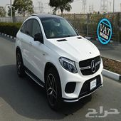 مرسيدس بنز-GLE43 AMG-3.0L-أبيض-0كم-2020