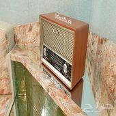 راديو شكل التراثي قديم مناسب للهدايا ومشب زين