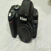 كاميرا نيكون D40 DSLR عدسة جديدة