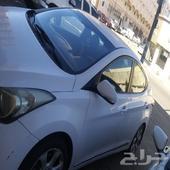سيارة هونداي النترا 2013 نظيفة