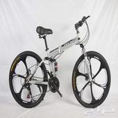 دراجات سيكلات رياضية هوائية هجين بتنسفط وحامل