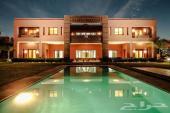 قصر فخم 7 أجنحة للإيجار بمدينة مراكش المغربية