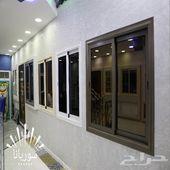 شبابيك المنيوم وقبب معشق ودرابزينات0507160663