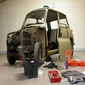 فحص شامل - صيانة دورية - إعادة ترميم السيارات