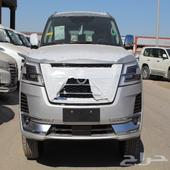 نيسان باترول بلاتنيوم V6 فضي سعودي 2021