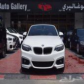 BMW 220 i Convertible Edition M kit 2018 GCC