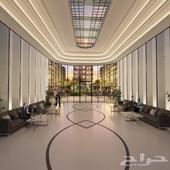 شقة غرفتين وصالة للبيع في دبي
