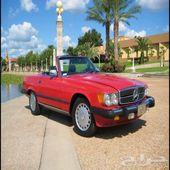 5 سيارات مرسيدس 560 موديل 1986 اعلان 2517