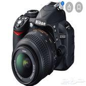 كاميرا احترافية نيكون- Nikon D3100